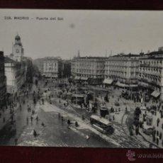 Postales: ANTIGUA POSTAL DE LA PUERTA DEL SOL DE MADRID. SIN CIRCULAR. Lote 40937643