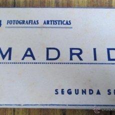 Postales: ACORDEÓN DE 24 FOTOGRAFÍAS - MADRID 24 FOTOGRAFÍAS ARTÍSTICAS - SEGUNDA SERIE AÑO. Lote 41193379