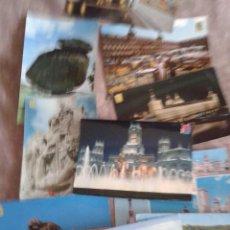Postales: 11 POSTALES DE MADRID. AÑOS 70-80. CIRCULADAS. Lote 41230964