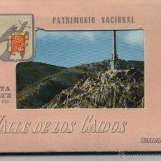 Postales: CARPETILLA SANTA CRUZ DEL VALLE DE LOS CAÍDOS * MADRID *. Lote 41235266