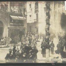 Postales: MADRID - ATENTADO CONTRA SS.MM. EN LA CALLE MAYOR 31 DE MAYO DE 1906 - BRAULIO LOPEZ - (18939). Lote 41261791