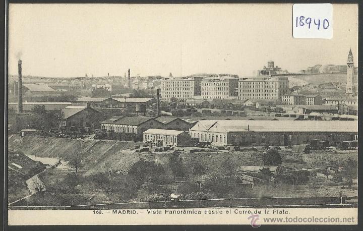 MADRID - 163 - VISTA PANORAMICA DESDE EL CERRO DE LA PLATA - FOTO LACOSTE - (18940) (Postales - España - Comunidad de Madrid Antigua (hasta 1939))