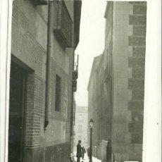 Postales: MADRID.- PLAZA DE LA VILLA- FOTOGRÁFICA. Lote 41299348