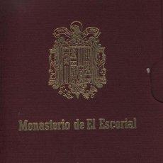 Postales: CARPETILLA 10 POSTALES MONASTERIO DE EL ESCORIAL. Lote 41309922
