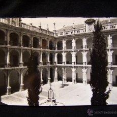 Postales: POSTAL FOTOGRÁFICA SIN CIRCULAR PATIO DE SANTO TOMÁS UNIV ED ARRIBAS, ZARAGOZA SERIE 75. Lote 41326462