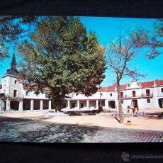 Postales: POSTAL FOTOGRÁFICA SIN CIRCULAR ED P.M PLAZA MAYOR Y AYUNTAMIENTO DE GUADARRAMA . Lote 41384658