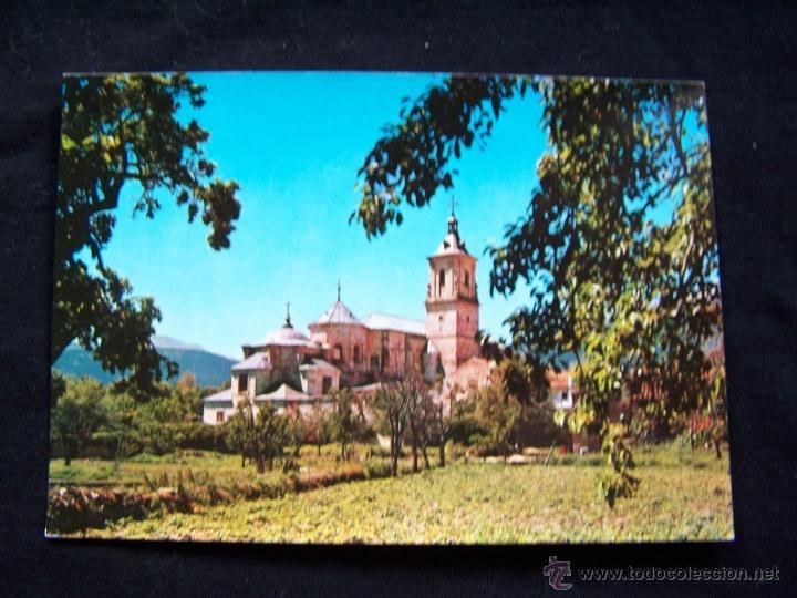 POSTAL FOTOGRÁFICA SIN CIRCULAR ED FISA BARCELONA FOTOGRAFÍA INDUSTRIAL, S.A MONASTERIO DE EL PAULAR (Postales - España - Madrid Moderna (desde 1940))