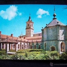 Postales: POSTAL FOTOGRÁFICA SIN CIRCULAR ED FISA BARCELONA FOTOGRAFÍA INDUSTRIAL, S.A MONASTERIO DE EL PAULAR. Lote 41422896
