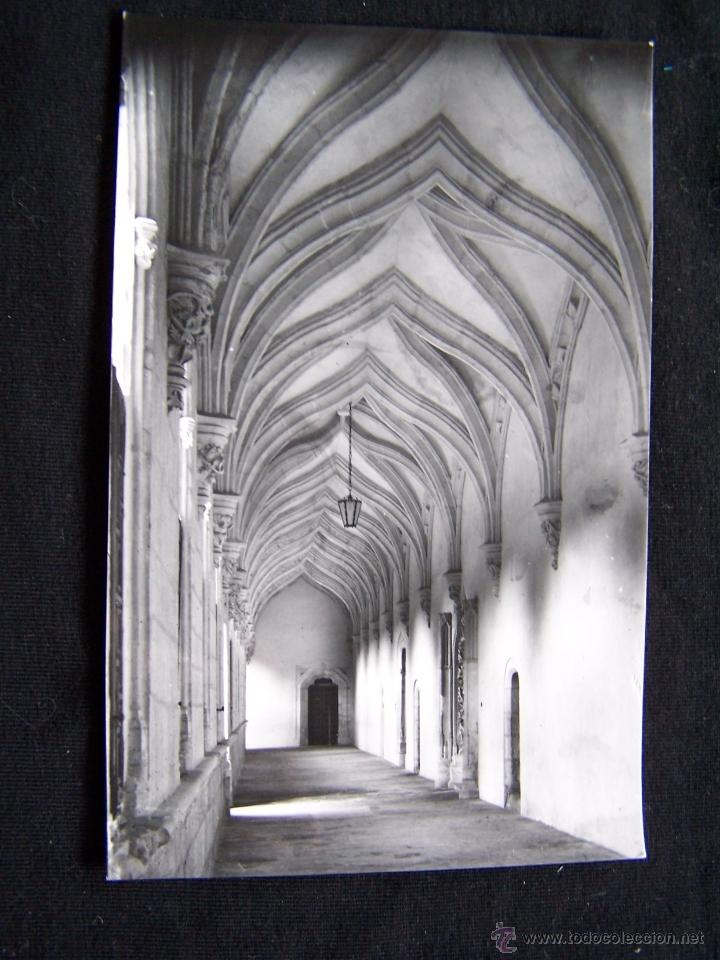 POSTAL FOTOGRÁFICA SIN CIRCULAR ARCHIVO DEL MONASTERIO EL PAULAR Nº8 21663 VII EL CLAUSTRO (Postales - España - Madrid Moderna (desde 1940))