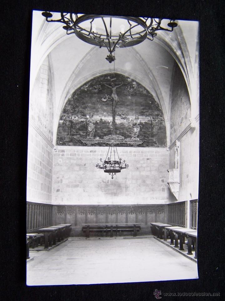POSTAL FOTOGRÁFICA SIN CIRCULAR ARCHIVO DEL MONASTERIO EL PAULAR Nº5 21669 VII REFRECTORIO MONÁSTICO (Postales - España - Madrid Moderna (desde 1940))