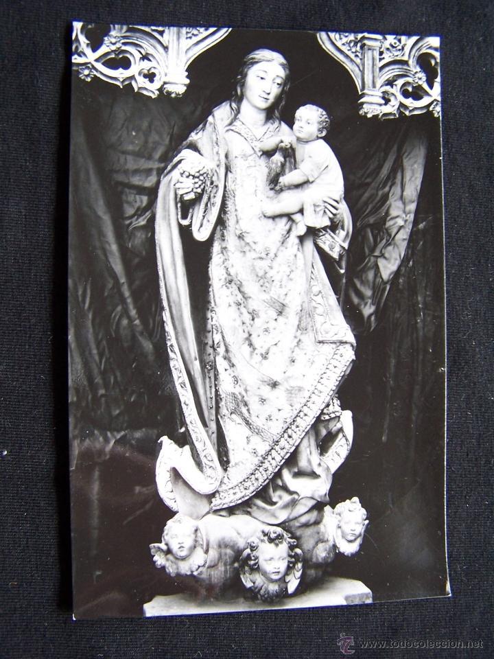 POSTAL FOTOGRÁFICA SIN CIRCULAR ARCHIVO DEL MONASTERIO EL PAULAR Nº7 21663 VII LA SANTA IMAGEN (Postales - España - Madrid Moderna (desde 1940))