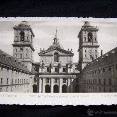 Postales: POSTAL FOTOGRÁFICA CIRCULADA ED ARRIBAS Nº 17 PATIO DE LOS REYES EL ESCORIAL MADRID. Lote 41425131