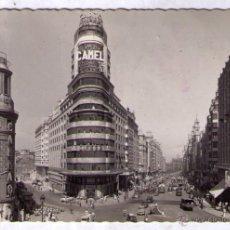 Postales: POSTAL DE MADRID - AVENIDA JOSE ANTONIO. Lote 41521600