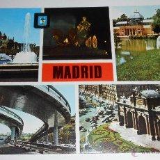Postales: POSTAL MADRID. EDITADA 1972. Lote 41611687