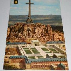 Postales: POSTAL VALLE DE LOS CAIDOS. VISTA POSTERIOR SANTA CRUZ. EDITADA 1963. Lote 41611759