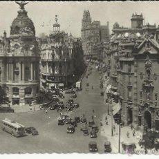 Postales: MADRID CALLE ALCALA SIN ESCRIBIR. Lote 41634108
