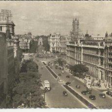 Postales: MADRID CALLE ALCALA SIN ESCRIBIR. Lote 41638326