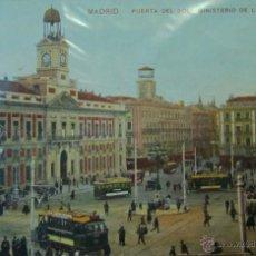 Postales: MADRID: PUERTA DEL SOL. MINISTERIO DE GOBERNACIÓN. AÑOS 20. Lote 41771723