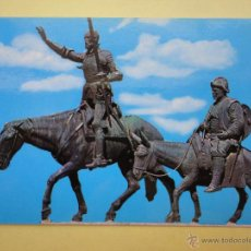 Postales: MONUMENTO A CERVANTES. MADRID. ED. GALLEGOS. Lote 41904746
