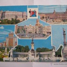 Postales: POSTAL MADRID EDICIONES BEASCOA Nº 136, CIRCULADA (ARRUGA EN LA PARTE DERECHA). Lote 41945164