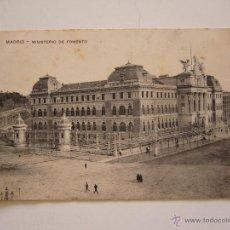 Postales: POSTAL MADRID. MINISTERIO DE FOMENTO. CIRCULADA 1914.. Lote 41972136