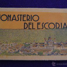 Postales: ALBUM 18 POSTALES MONASTERIO DEL ESCORIAL. 2ª SERIE. L. ROISIN FOT. MADRID. Lote 42029348