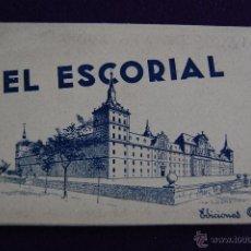 Postales: ALBUM 15 POSTALES EL ESCORIAL. EDICIONES GARCIA GARRABELLA, ZARAGOZA. ALBUM SIN NUMERAR. MADRID. Lote 42029439