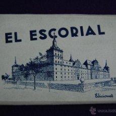 Postales: ALBUM 15 POSTALES EL ESCORIAL. EDICIONES GARCIA GARRABELLA, ZARAGOZA. ALBUM Nº 1. MADRID. Lote 42029512