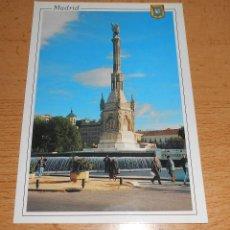 Postales: POSTAL MADRID PLAZA COLÓN. AÑO 1996. Lote 42049235