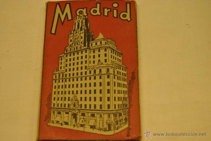 ALBUM 19 POSTALES ANTIGUAS RECUERDO DE MADRID (Postales - España - Madrid Moderna (desde 1940))