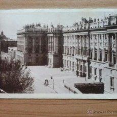 Postales: POSTAL EN BLANCO Y NEGRO - MADRID- PALACIO NACIONAL. Lote 92996277
