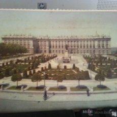 Postales: ANTIGUA POSTAL MADRID SIN CIRCULAR - PLAZA DE ORIENTE - PALACIO NACIONAL. Lote 42192373
