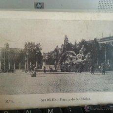 Postales: ANTIGUA POSTAL MADRID SIN CIRCULAR - FUENTE DE LA CIBELES. Lote 42192516