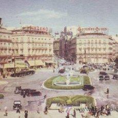 Postales: MADRID. LA PUERTA DEL SOL. FOTO LARA.. Lote 42229320