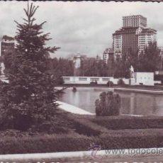 Postales: MADRID. PALACIO REAL: JARDINES. HELIOTIPIA ARTÍSTICA ESPAÑOLA.. Lote 42230554