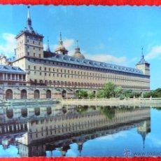 Postales: EL ESCORIAL - MONASTERIO - ESTANQUE DE LA HUERTA - EDITORIAL PATRIMONIO NACIONAL. Lote 42248851
