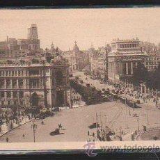 Postales: TARJETA POSTAL DE MADRID - BANCO DE ESPAÑA, CALLE DE ALCALA Y LA CIBELES. 54. KALLMEYER. Lote 42322194