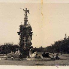 Postales: MADRID.- PARQUE DEL OESTE.-FUENTE DE LA FAMA. Lote 42341664