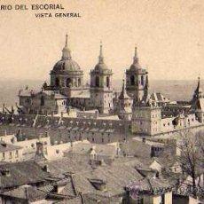Postales: MONASTERIO DEL ESCORIAL Nº 1 VISTA GENERAL SIN CIRCULAR . Lote 42348021