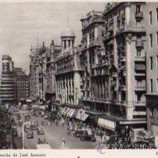 Postales: MADRID AVENIDA DE JOSÉ ANTONIO HELIOTIPIA MADRID SIN CIRCULAR . Lote 42348080
