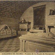 Postales: EL ESCORIAL, PANTEÓN DE LOS DUQUES DE MONTPENSIER, EDITOR: ARRIBAS. Lote 42477841