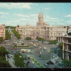 Postais: POSTAL MADRID. LA CIBELES Y CALLE ALCALÁ. Lote 42537904