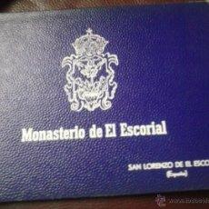 Postales: CUADERNILLO POSTALES MONASTERIO DE EL ESCORIAL 22X16 CM. Lote 42542886