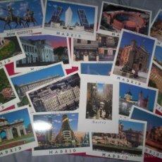 Postales: LOTE 20 POSTALES MODERNAS MADRID NUEVAS SIN USAR. Lote 210007438