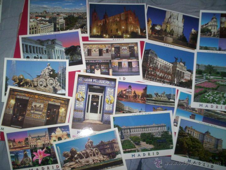 LOTE 32 POSTALES MODERNAS MADRID NUEVAS SIN USAR (Postales - España - Madrid Moderna (desde 1940))