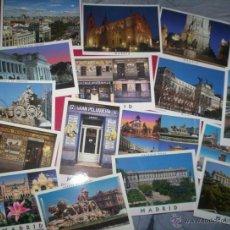 Postales: LOTE 32 POSTALES MODERNAS MADRID NUEVAS SIN USAR. Lote 192396766