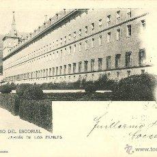 Postales: MADRID - MONASTERIO DEL ESCORIAL, JARDIN DE LOS FRAILES.. Lote 42646983