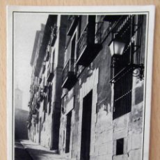 Postales: RARA TARJETA POSTAL, MADRID, COSTANILLA DE SAN ANDRES, CALLE, 1964. Lote 42696793