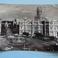 Postais: POSTAL DE MADRID CAPITAL. AÑOS 30 50. PLAZA DE LA CIBELES. 1222. Lote 42700335