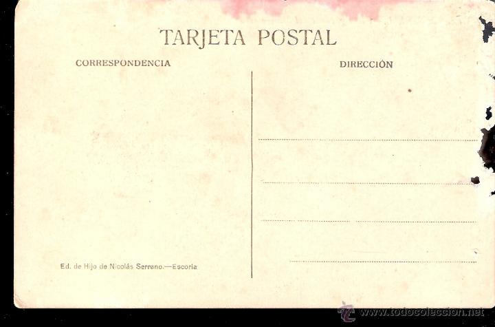 Postales: El Escorial. Vista general del Monasterio. Ed. de Hijo de Nicolas Serrano - Escorial. - Foto 2 - 42770295